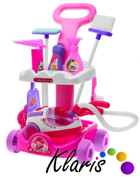 Detský upratovací vozík - vysavač a príslušenstvo empty 297048d6b80